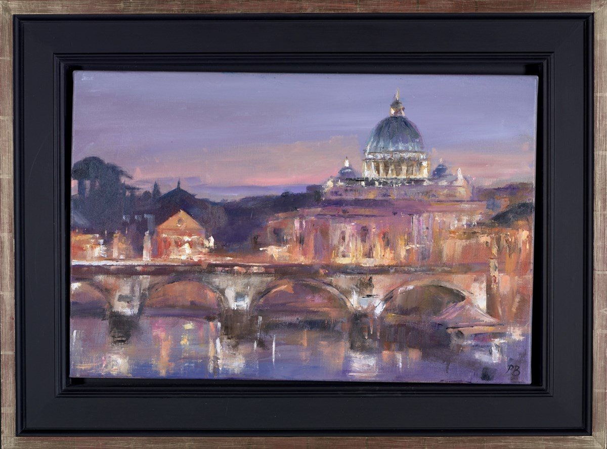 St Peter's, Rome by david porteous butler -  sized 24x16 inches. Available from Whitewall Galleries